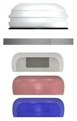Set matrici locator standard cu dubla frictiune