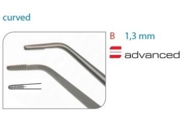 Pensa chirurgicala Cooley, latime activa 1.3 mm, angulata