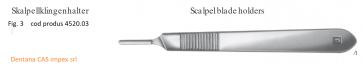 Scalpel blade holders