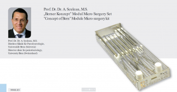 Kit micro chirurgie by Prof. Dr. A. Sculean