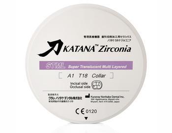 Disc zirconiu Katana  STML 18mm