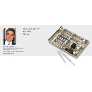 Trusa Prof. Dr. F. Khoury OST Tray