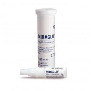 Miraglu adeziv pentru sigilarea leziunilor pielii si mucoasei tub 3 g